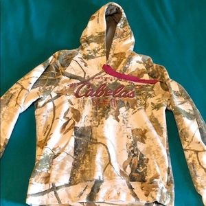 Cabela's Women's Sweatshirt - Large - White Camo